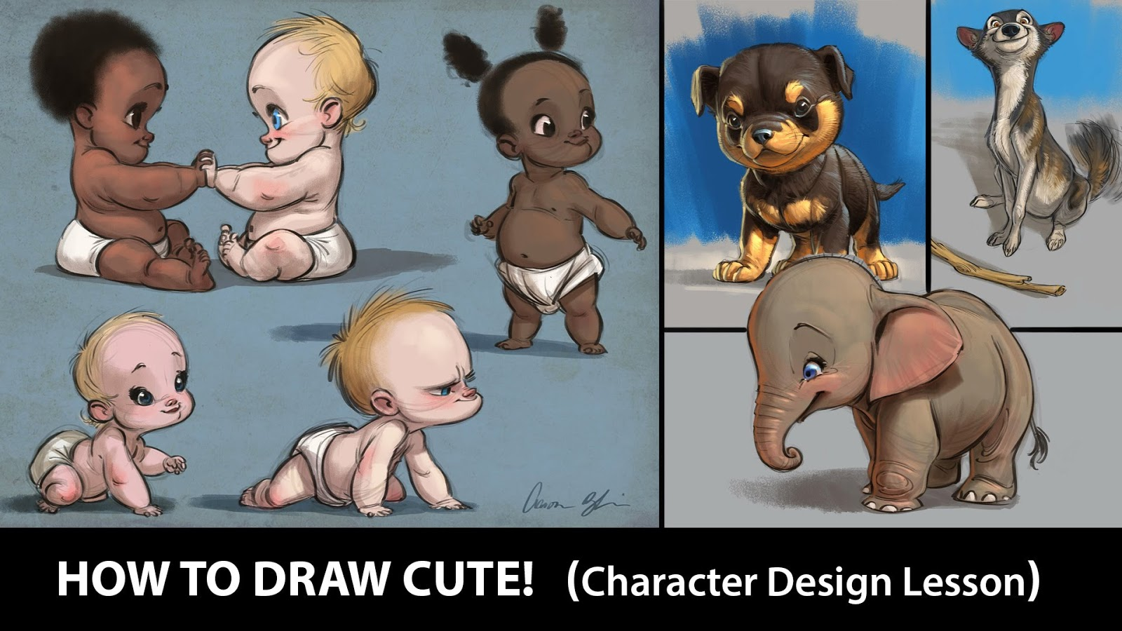 Character Design By 100 Illustrators Pdf : Tutorial diseño de personajes por aaron blaise