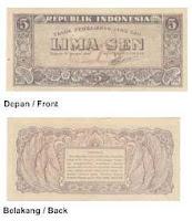 Uang Kertas 5 Sen 1946