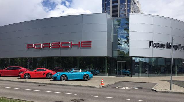 Продажи Porsche в лизинг растут