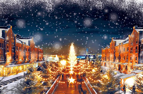 【日本旅行】「聖誕市集 in 橫濱紅磚倉庫」 德國小鎮的白色童話世界