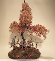 Wood Elves forest with Dryads