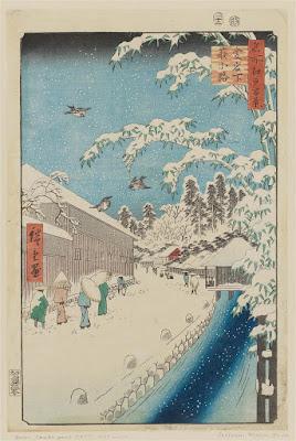 """Hiroshige-Atagoshita-strada-Yabu"""""""