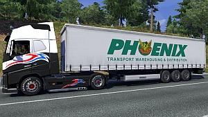 Phoenix Transport trailer