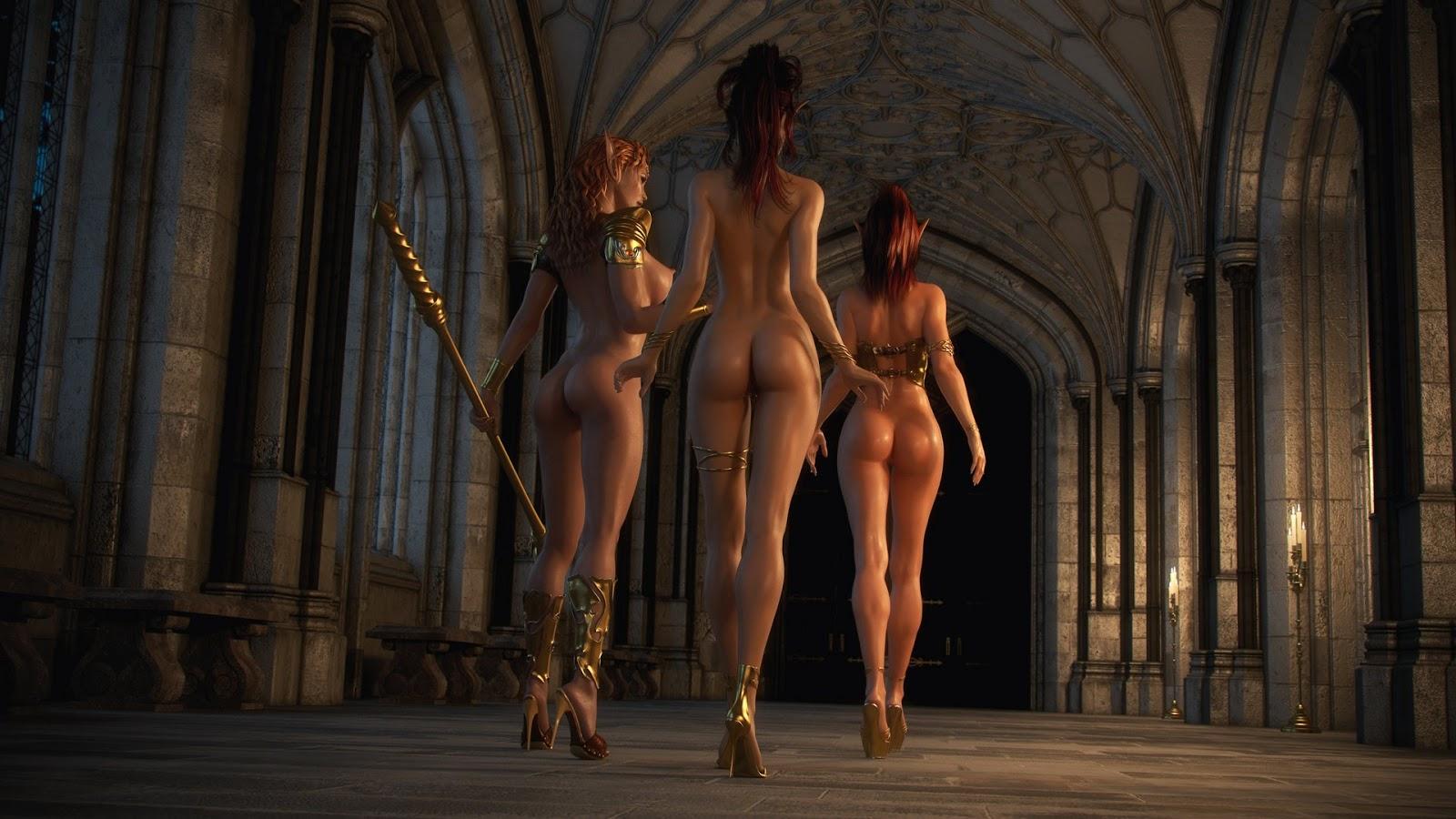 lauren cohan sexy topless