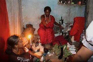 witchcraft shrines