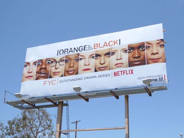 Orange is the New Black season 3 Emmy 2016 FYC billboard