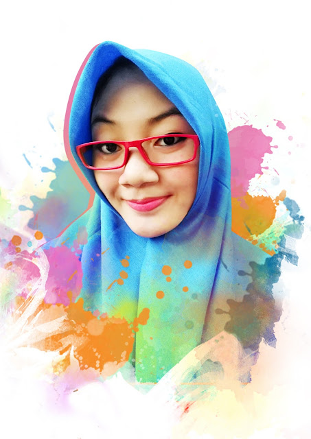 Photo Painting Diah Ayu
