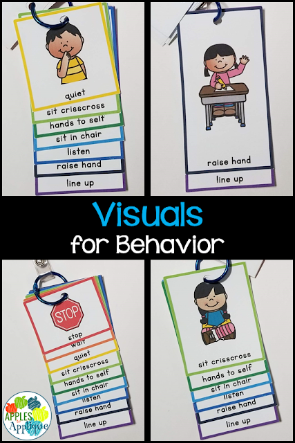 Quick-Reference Visuals for Behavior | Apples to Applique