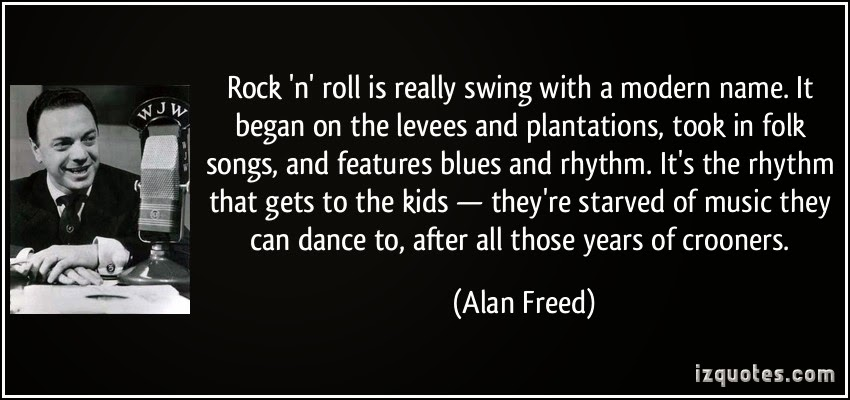 Rock and roll started the end