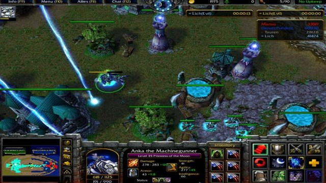 Download Warcraft 3 The Frozen Throne PC Games Gameplay