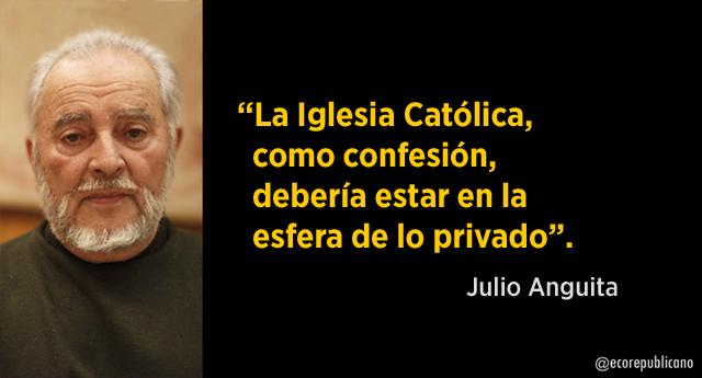 """Julio Anguita: """"Vírgenes y honores cívicos"""""""