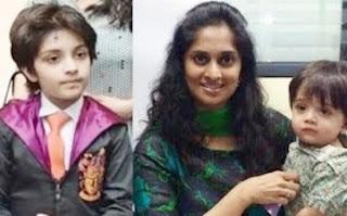 Shalini Ajith Family Photos | Shalini Kumar with Anoushka & Aadvik