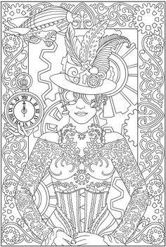TODO EN MANUALIDADES: 5 láminas de dibujos para adultos para colorear