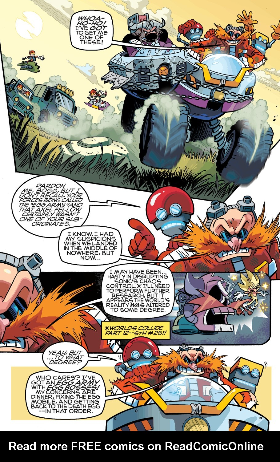 Read online Sonic The Hedgehog comic -  Issue #253 - 9
