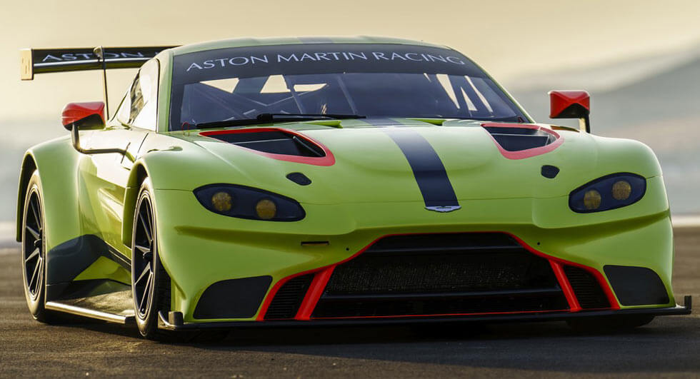 The Aston Martin Vantage GTE Racing Car Is Already Here
