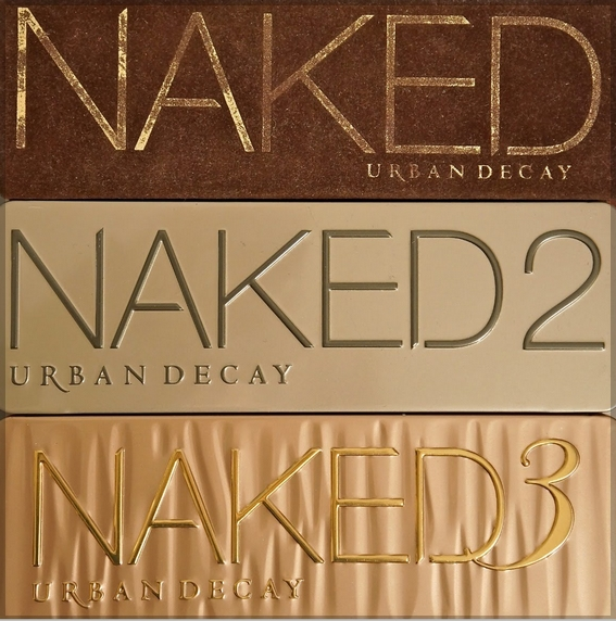 Naked 1 - 2 - 3 Urban Decay