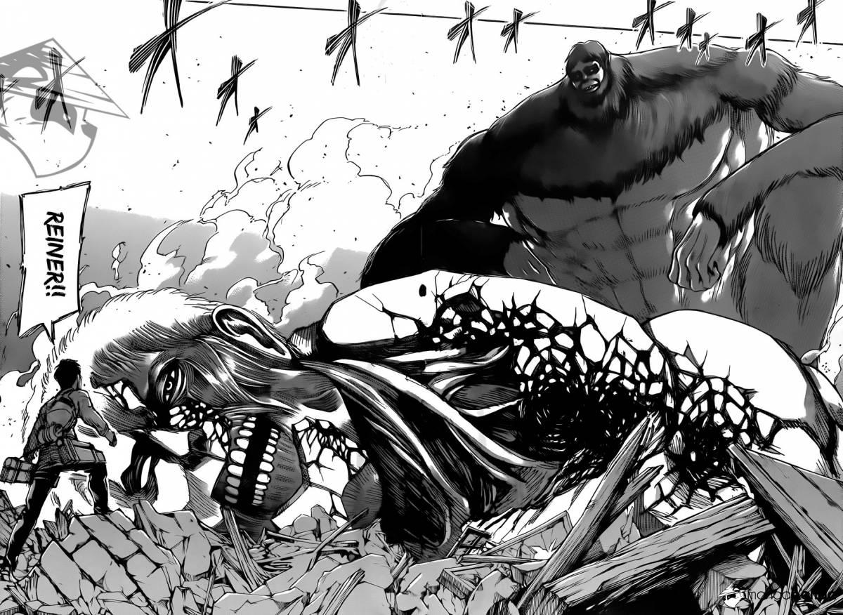 Shingeki no Kyojin Ch 70: The dream I saw one day
