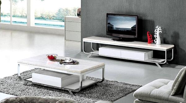 Kumpulan Desain Meja dan Rak TV Minimalis Terbaru Yang Elegan 008