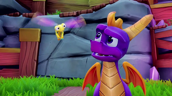الكشف عن العرض الرسمي لإطلاق لعبة Spyro Reignited Trilogy ، شاهد من هنا ..