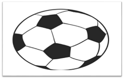 Soccer Ball Drawing step by step