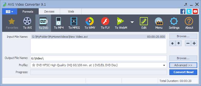 تحميل برنامج تحويل صيغ الفيديو AVS Video Converter
