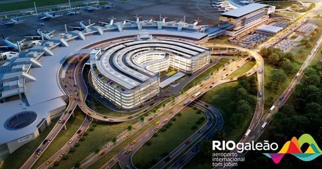 Aeroporto Galeão contrata Auxiliar de Cargas no Rio de Janeiro