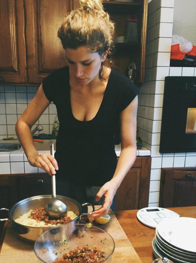 Busiate With Trapanese Pesto Busiate Con Pesto Alla