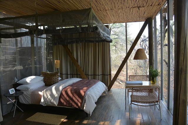 Singita Sweni South Africa hotel resort Kruger National Park bedroom