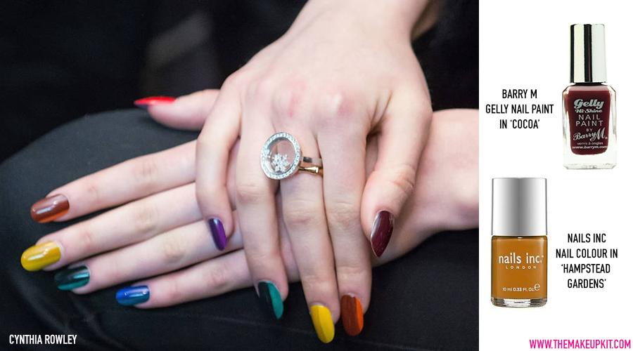 70s Nail Trend AW14