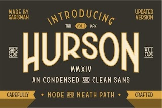 Hurson Font