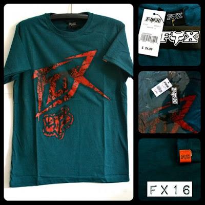 Kaos Distro Surfing Skate FOX Premium Kode FX16
