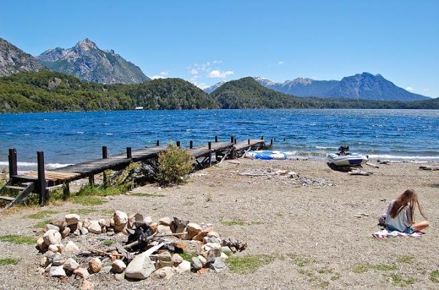 Praias do Lago Moreno em Bariloche