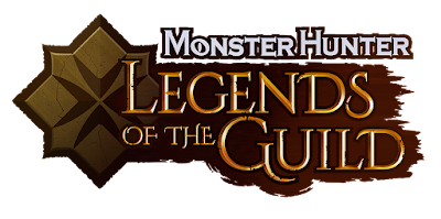 Capcom Monster Hunter Legends of the Guild 3D animated special logo