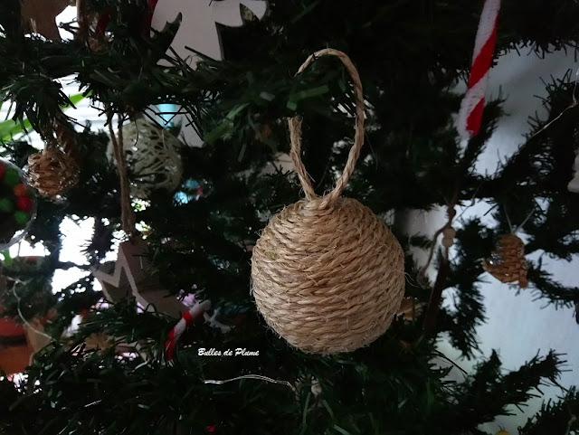 Bulles de Plume - DIY boule de Noël en corde