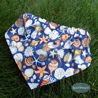Seashore Treasures Beach Dog Bandana | SewAmazin