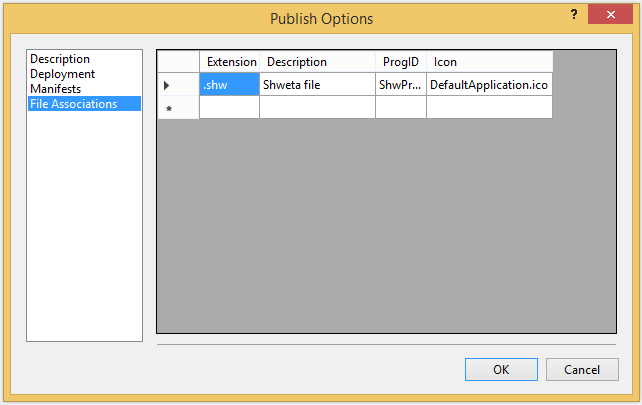 associate icon to a wpf application