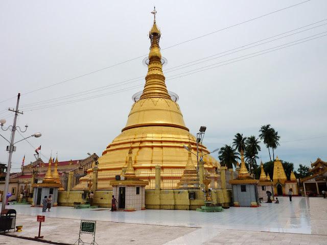 Buddha Myanmar Paksa Bangun Pagoda di Lokasi Gereja dan Masjid