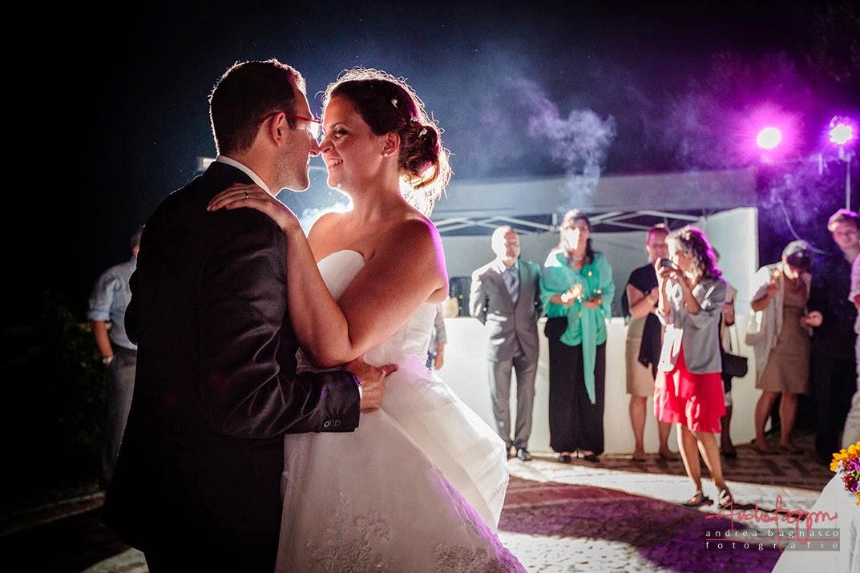 primo ballo degli sposi alla tenuta la Ginestra Le Manie