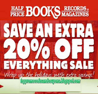 Free Printable Half Price Books Coupons