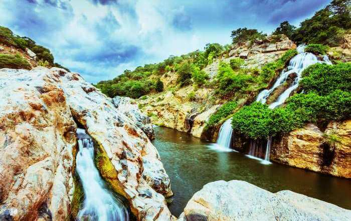 Chunchi Water Falls Near Bangalore Karnataka India