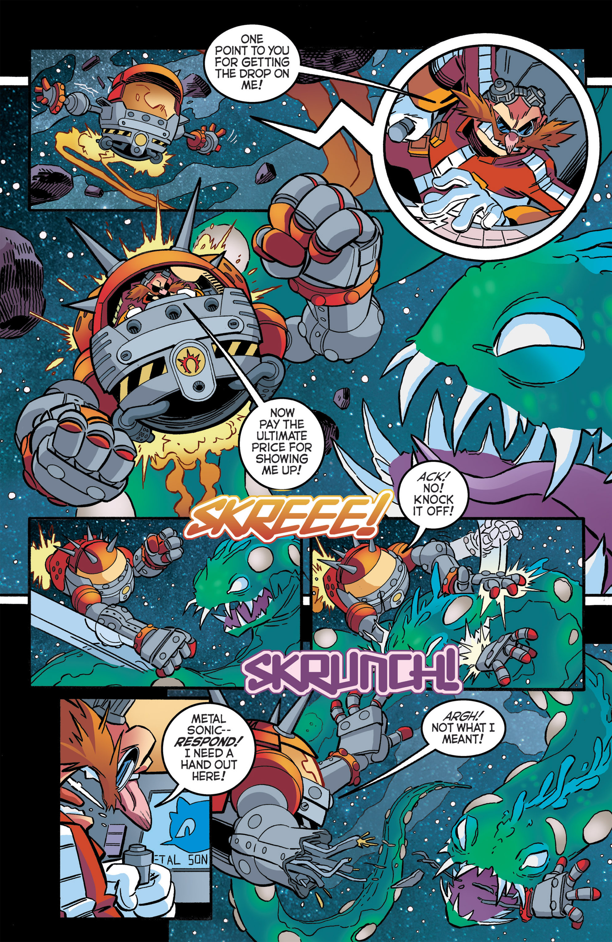 Read online Sonic The Hedgehog comic -  Issue #276 - 19