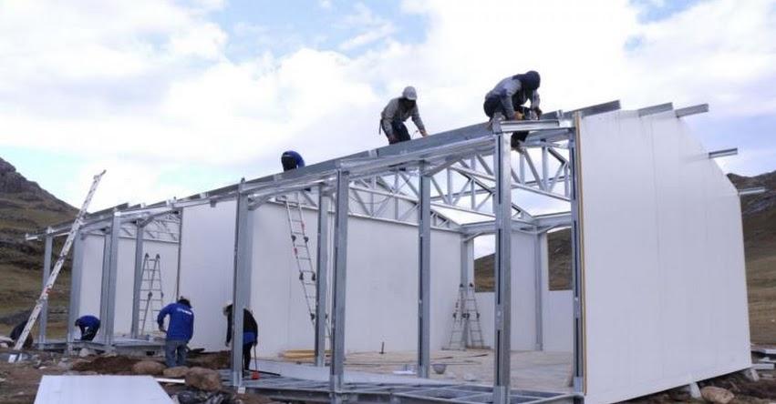 MINEDU: Ministerio de Educación inicia trabajos para instalar módulos en colegio rural de Piura - www.minedu.gob.pe