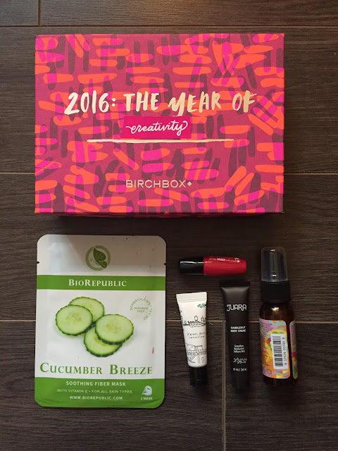 Birchbox January 2016 Review