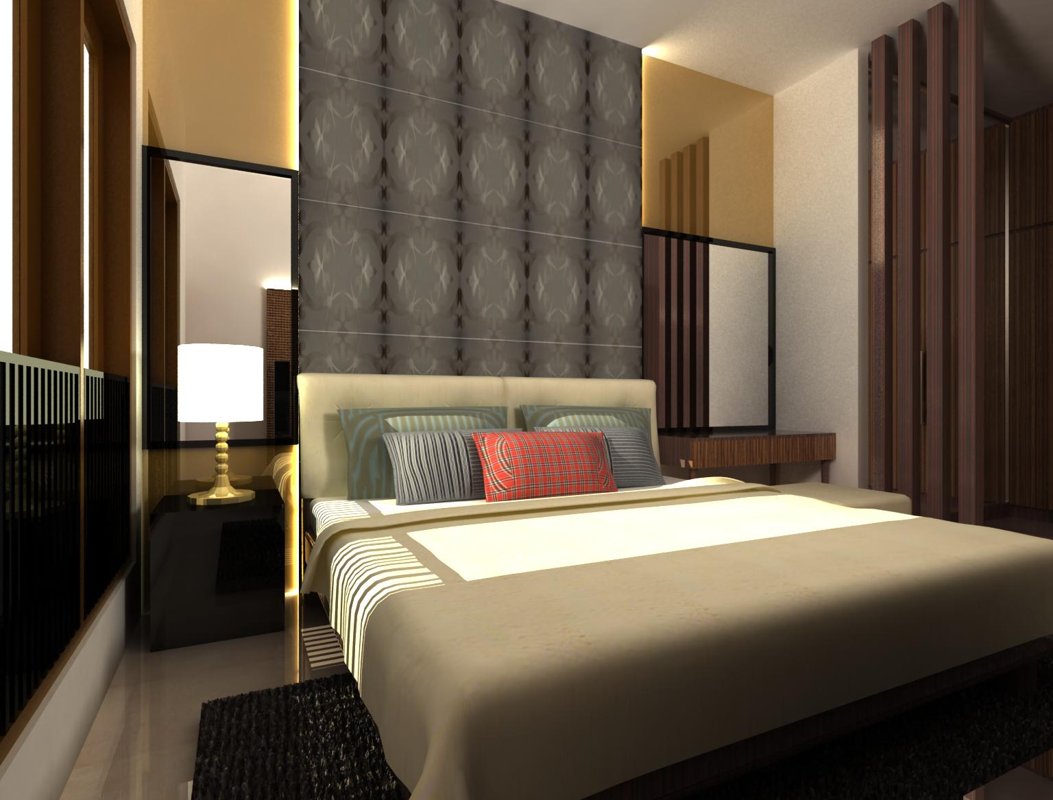 Desain Kamar Tidur Minimalis Ukuran 4x4  Karya Minimalis