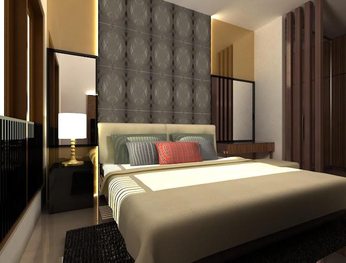 Desain Kamar Tidur 4x4 M