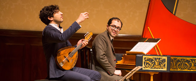 Avi Avital & Mahan Esfahani - photo Wigmore Hall/Simon Jay Price