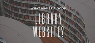 What makes a good library website?
