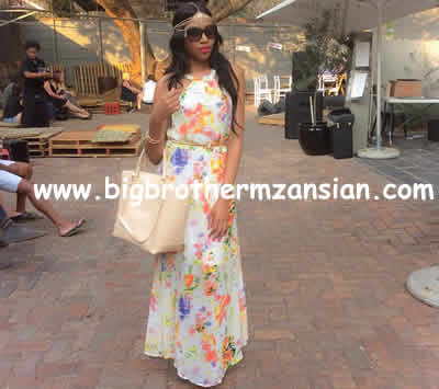 BBMzansi Blue Mbombo Latest photos