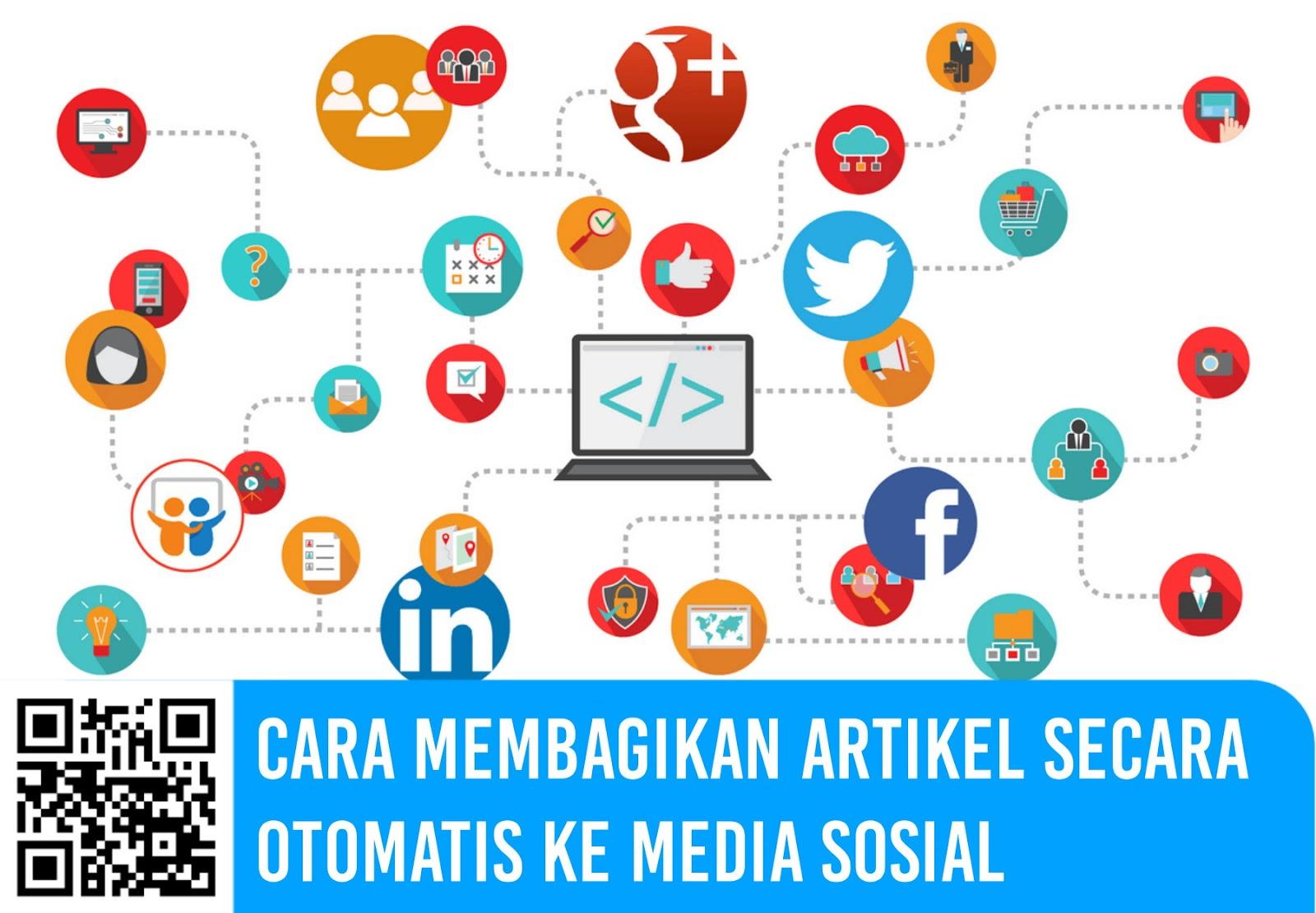 Cara Membagikan Artikel Blog Secara Otomatis ke Media Sosial