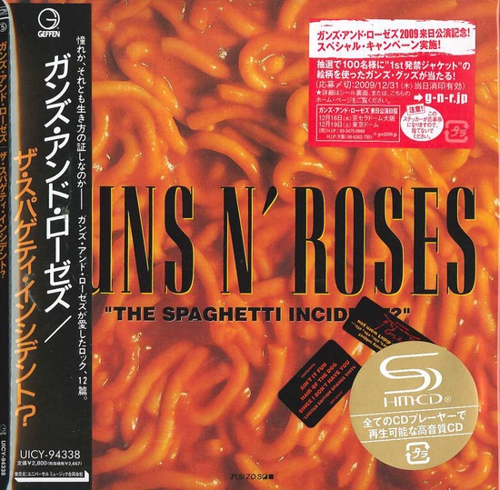 GUNS N' ROSES - The Spaghetti Incident [Japan SHM-CD LTD miniLP] (2016) full